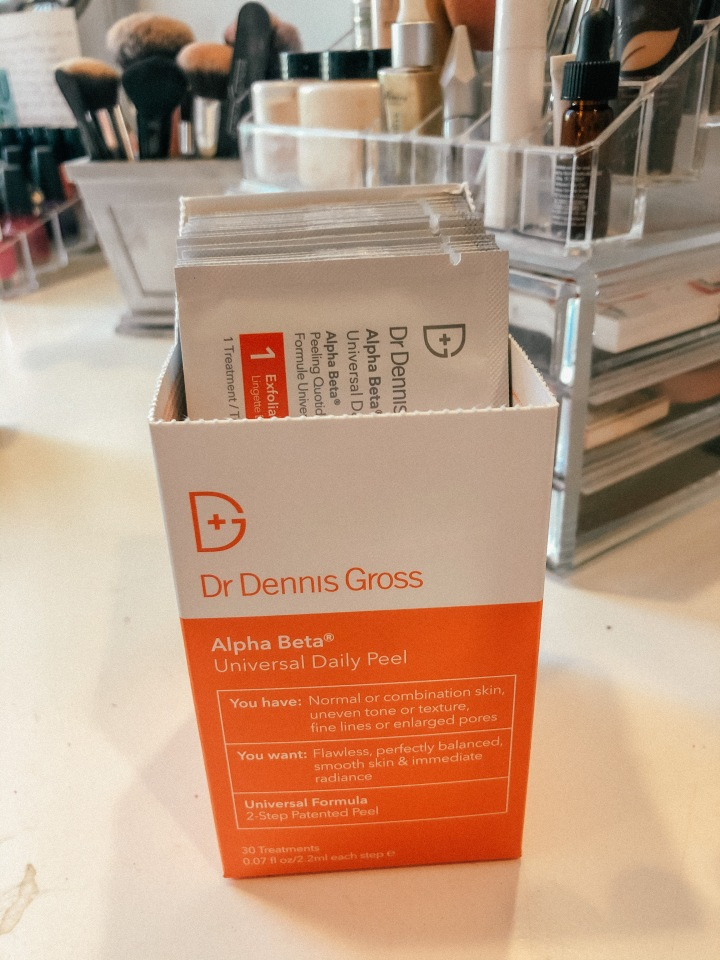Skin concerns?? See what I'm saying about the Dennis Gross Daily Peel